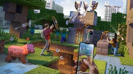 『マイクラ』ARゲーム『Minecraft Earth』2021年6月にサービス終了―新型コロナも影響