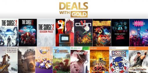 最大85%オフ! 「The Surge 2」や「SUPERHOT」が対象の「Xbox Live Gold」加入者向けセールがスタート