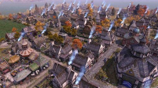 都市建設シム『Farthest Frontier』発表。人気ハクスラRPG開発元手がける、未開の原野を切り開き侵略者や疫病と戦う硬派ストラテジー