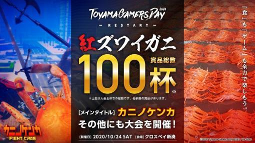 カニノケンカ大会でメチャクチャ面白いことが起こってたことを今更語らせてほしい (富山GamersDay 2020レポート) - mekasueの日記