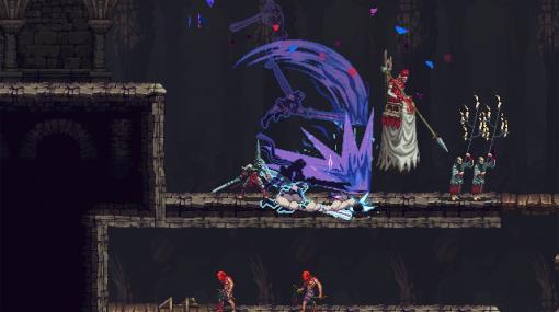 高難度2Dアクション『Blasphemous』、IGA氏の『Bloodstained』とコラボする無料アプデ発表。異世界に迷い込んだミリアムを助ける