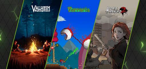 """NVIDIAが「GeForce NOW」ライブラリを更新し,ブログでは""""Valheim""""や""""Terraria""""などインディーズ作品の充実ぶりをアピール"""