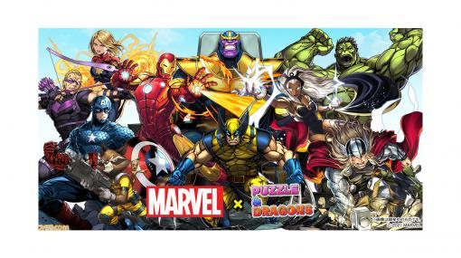 『パズドラ』×『マーベル』コラボが本日(2月22日)開催。アイアンマンやスパイダーマンなど人気ヒーローたちがガチャやイベントダンジョンに登場