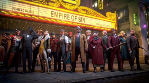 PS4/Switch「Empire of Sin エンパイア・オブ・シン」が本日リリース。4人のギャングや黄金銃など日本語版の特典が公開に