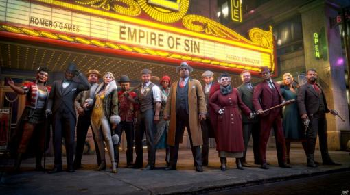 個性豊かなボスを選び暗黒街の支配を目指すクライムストラテジー「Empire of Sin エンパイア・オブ・シン」が発売!