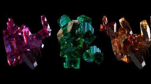 "WORK 030 ""Procedual Mineral"" / 結晶のフラクタル構造 - 連載"