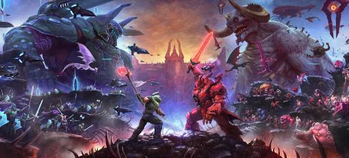 最強のボスファイトを描く「DOOM Eternal: The Ancient Gods ‐ Part Two」の新トレイラーが公開され,北米時間3月18日のリリースが明らかに