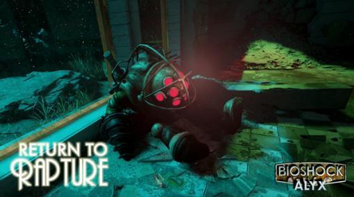 海底都市をVRで体験!『BioShock』の世界で展開する『Half-Life: Alyx』用キャンペーンModが登場