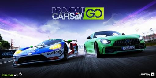 「Project CARS GO」が配信開始