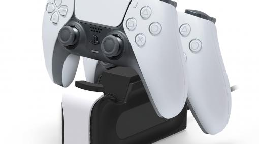 HORI、PS5ワイヤレスコントローラー2台同時に充電できる充電スタンドを6月に発売!8K映像対応HDMIケーブル、PS5コントローラー専用充電USBケーブルも同時発売