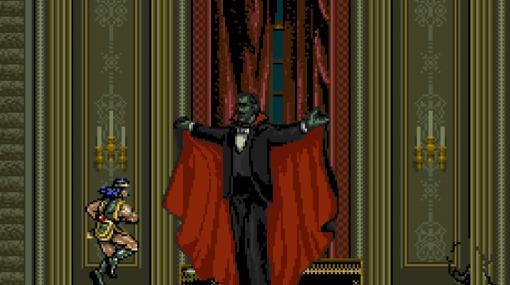 『アーケードアーカイブス 悪魔城ドラキュラ』Nintendo Switch版が4月1日に配信決定。人気アクションシリーズのなかでも珍しいアーケード向け作品