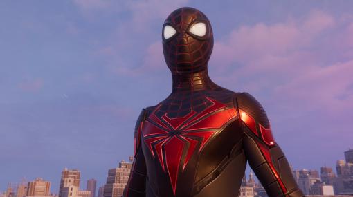 『スパイダーマン:マイルズ・モラレス』新スーツ「アドバンステック・スーツ」最新アップデートで配信!