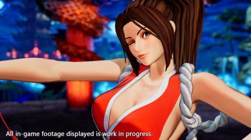対戦格闘ゲーム『THE KING OF FIGHTERS XV』に「不知火舞」が参戦決定。『餓狼伝説』シリーズの人気女性キャラクター