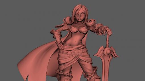 CGキャラクター制作ワークフロー ~魅力的なキャラクターを創るために必要なこと~ 第2回:ラフモデルからモデルの作り込みまで