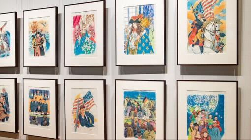 角川まんが学習シリーズ『世界の歴史』スタジオジブリ・近藤勝也によるカバーイラスト原画展開催