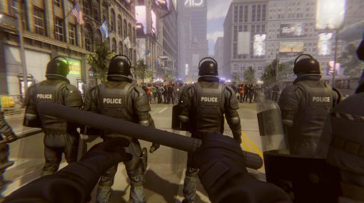 暴動鎮圧シミュレーション「Riot Control Simulator」が発表。独裁化しつつある国家を舞台に暴徒化した群衆を鎮圧しよう
