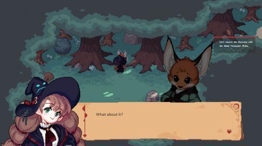 魔女見習いが立派な魔女を目指すスローライフゲーム『Little Witch in the Woods』のSteamストアページ開設。『Stardew Valley』に魔女を足したら、という発想から生まれたかわいいゲーム