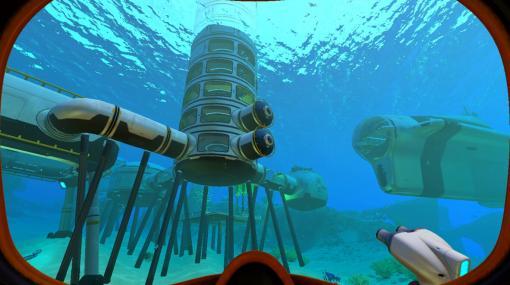 未知の海洋惑星でサバイバル! 「Subnautica サブノーティカ」Switchダウンロード版が本日発売