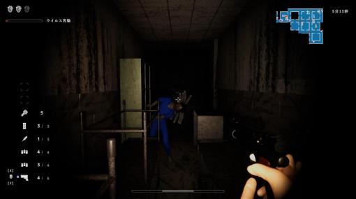 ゾンビFPS『感染メイズ』SteamにてVer1.0リリース。妹を助けるため、感染者で溢れた病院の地下深くへ