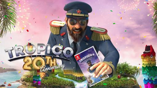 Switch版『トロピコ6』が本日発売。『トロピコ』シリーズ20周年を記念した祝賀動画を含むスペシャルムービー4本を同時公開