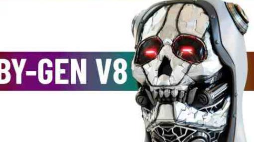 BY-GEN V8 - Blender用ジェネラティブモデリングアドオン新バージョン!