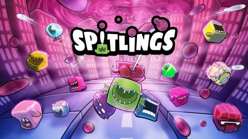 PS4版「スピットリング バブルでパーティー」が本日発売。つばでバブルを消していくアクションゲーム