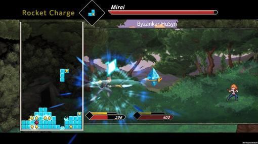 テトリス×JRPGな『Flowstone Saga』正式発表。ミノを落としブロックを消してファンタジー世界を冒険