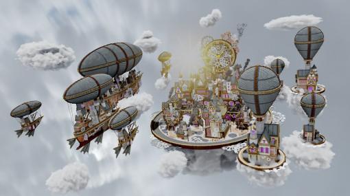 『マインクラフト』で作られたスチームパンク都市公開中。7か月かけて建造した、約700万ブロックの空中メトロポリス