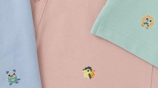 『ポケモンシャツ』に21種の刺繍が追加!