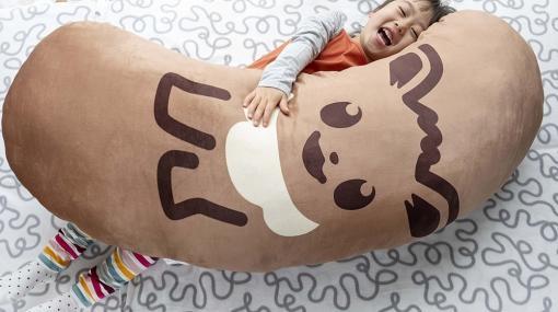 「イーブイ東京ばな奈メガだきマクラ」のプレゼントキャンペーンが実施中!身長約120cmのビッグサイズ