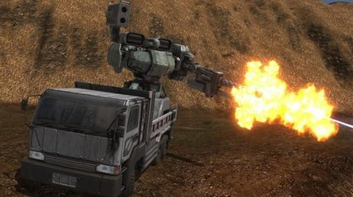 """『地球防衛軍6』メンテもままならず兵器はトラックの荷台上で""""間に合わせ""""運用…!EDFは機能不全寸前、より過酷な状況を伝える最新情報が公開"""