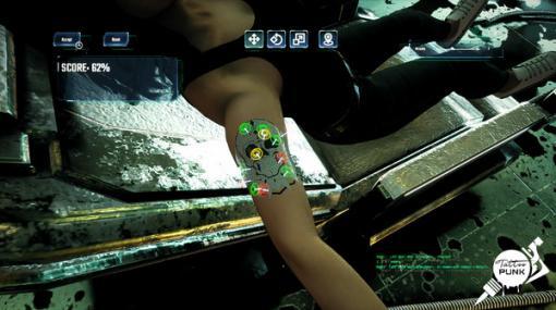 サイバーパンク世界でタトゥーサロンを経営する『Tattoo Punk』発表!妻を亡くした男が息子を育てるためにお金を稼ぐ
