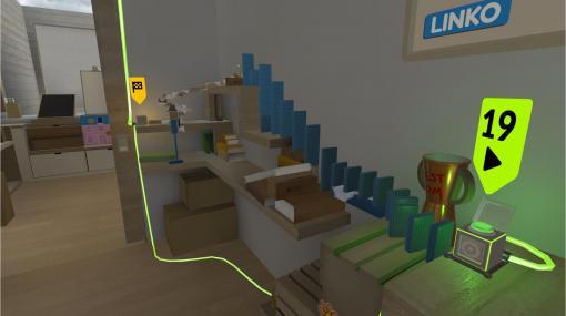 VRピタゴラ装置シミュレーター『ピタマスター』が5月25日発売。うっかりドミノを楽してしまう心配もナシ、VR空間で心ゆくまでピタゴラ装置を作成しよう