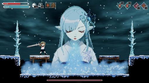 ソウルのゲーム開発会社が作るかわいいドット絵の2Dアクション『Lost Ruins』発売。記憶をなくした少女が武器や魔法で恐ろしいモンスターたちと戦う