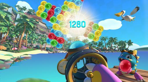 『パズルボブルVR バケーション・オデッセイ』5月21日に発売へ。「バブルン」生誕35周年を祝う『パズルボブル』シリーズ初のVRアクションパズル