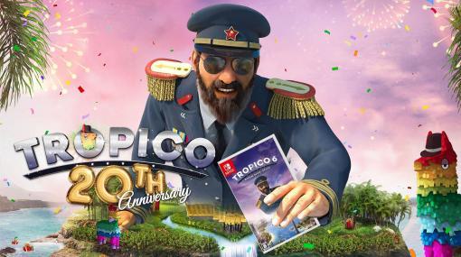 「トロピコ 6 Nintendo Switchエディション」が本日発売。シリーズ20周年祝賀会動画とR藤本さん&ビスケッティさんの先行プレイ動画が公開