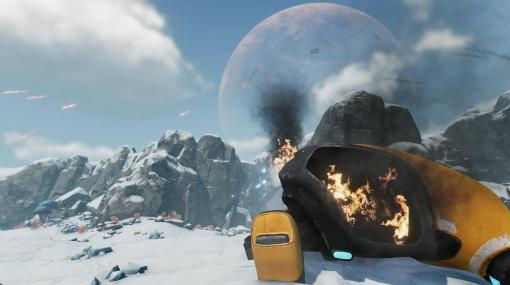 「サブノーティカ:ビロウゼロ」プレイレポート。今度は氷の世界で海中サバイバル!
