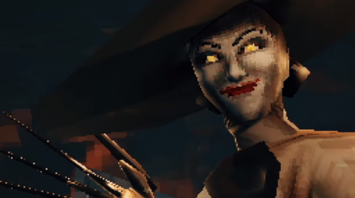 ドミトレスク夫人ももちろん登場!『バイオハザード ヴィレッジ』を初代PS1風に再現するファンメイドデメイク動画が公開