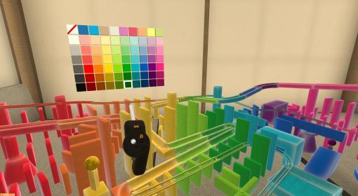 ピタゴラ装置シミュレーター『ピタマスター』がPS VR向けに5月25日発売。VR空間で連鎖的なパズルをとことん創造しよう!