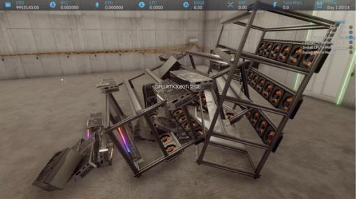 今こそ『Crypto Mining Simulator』で仮想通貨マイニングを体験!これであなたもクリプトマイナー!?【プレイレポ】