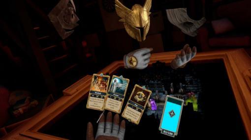卓を囲んでサイコロを振るVRTRPG『Demeo』がSteam/Oculus Quest向けに配信開始