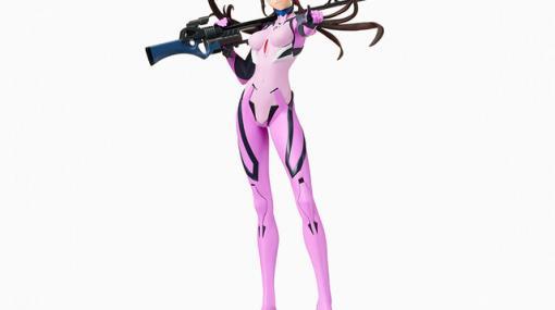 『ヱヴァンゲリヲン新劇場版』超長距離ライフルを携えたマリのフィギュアが登場