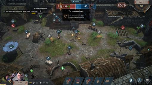 サバイバル経営ストラテジー『Siege Survival: Gloria Victis』がSteamにて本日配信。民間人として資源管理などをしながら過酷な籠城戦を生き延びる