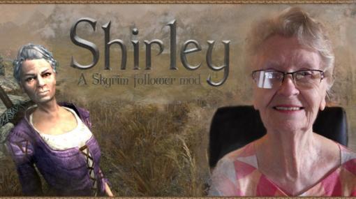 85歳の『スカイリム』実況おばあちゃんを再現したフォロワーModが遂に公開!