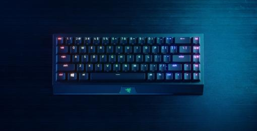 Razer初65%サイズワイヤレスキーボード「Razer BlackWidow V3 Mini HyperSpeed」が5月28日発売