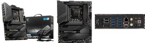 MSI,ゲーマー向けのZ590搭載マザーとB560搭載Mini-ITXマザーを発売