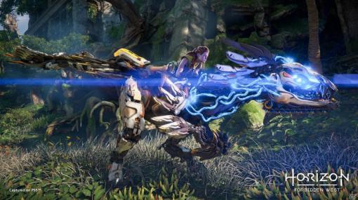 「Horizon Forbidden West」14分にわたるゲームプレイ映像が公開!シールドウイングなど新たな装備が登場