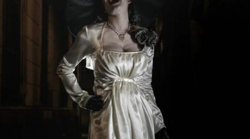 【画像】『バイオハザード ヴィレッジ』ドミトレスク婦人のモデル本人がコスプレを披露!美しすぎる…