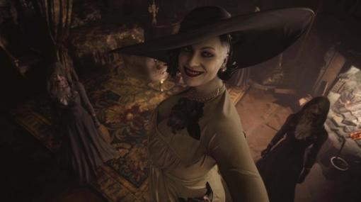 ご本人様降臨!『バイオハザード ヴィレッジ』巨大貴婦人「ドミトレスク」のモデル本人がコスプレ披露