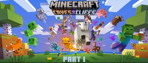 「Minecraft」につぶらな瞳のヤギ登場! 大型アップデート「CAVES & CLIFFS: PART I」は6月8日頃配信決定